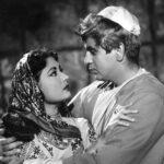 Dilip Kumar, pictured with actress Meena Kumari in a scene from Yahudi. Image credit: Bimal Roy Productions, Public domain, via Wikimedia Commons, 1958